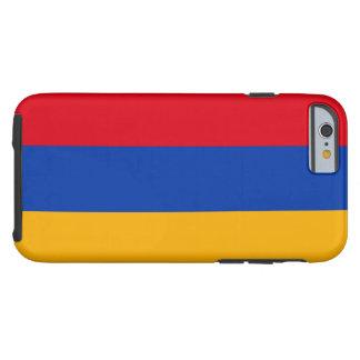 Coque iPhone 6 Tough Drapeau arménien