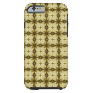Coque iPhone 6 Tough Étoile du Néerlandais est de moutarde rose et des