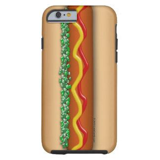 Coque iPhone 6 Tough Graphique de hot-dog de nouveauté drôle