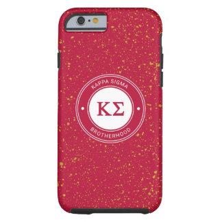 Coque iPhone 6 Tough Insigne du sigma   de Kappa