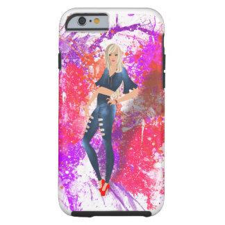 Coque iPhone 6 Tough iPHONE 6 du PIN-UP 2 À PEINE LÀ