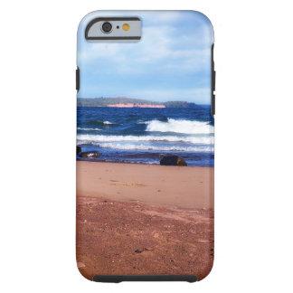 Coque iPhone 6 Tough Le lac Supérieur Shoreline