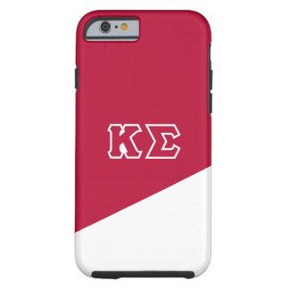 Coque iPhone 6 Tough Lettres de Grec du sigma   de Kappa
