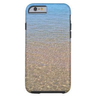 Coque iPhone 6 Tough L'iphone pittoresque 6 de l'eau bleue je téléphone