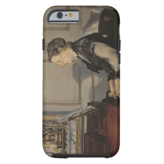 Coque iPhone 6 Tough Madame Manet au piano, 1868 de Manet |