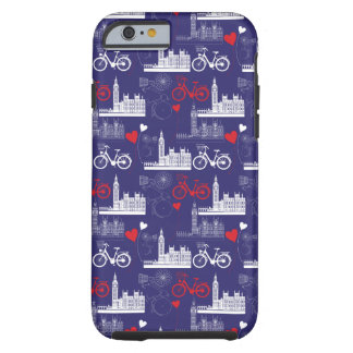Coque iPhone 6 Tough Motif de points de repère de Londres