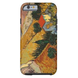 Coque iPhone 6 Tough Paysage de Vincent van Gogh | avec la Chambre et