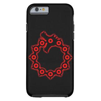 Coque iPhone 6 Tough Péché de cas d'Iphone 6 de noir de colère
