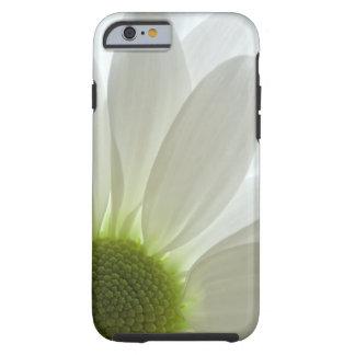 Coque iPhone 6 Tough Pétales de marguerite blanche