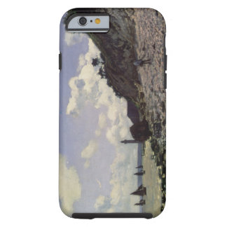 Coque iPhone 6 Tough Plage de Claude Monet | chez Honfleur, 1864