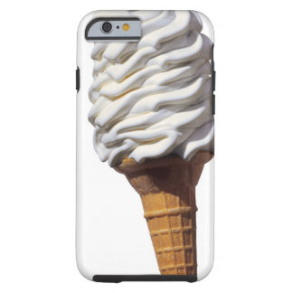 Coque iPhone 6 Tough Plan rapproché de crème glacée