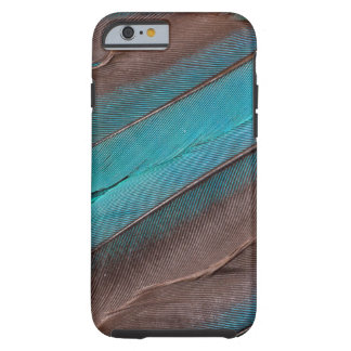 Coque iPhone 6 Tough Plumes d'aile de martin-pêcheur