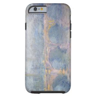Coque iPhone 6 Tough Pont de Claude Monet | Waterloo, Londres, au
