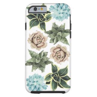 Coque iPhone 6 Tough Rangée des Succulents