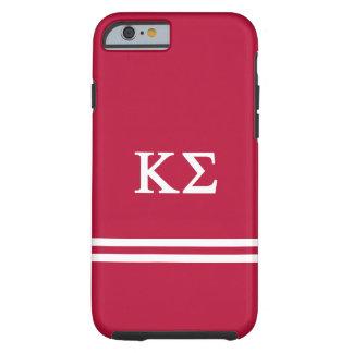 Coque iPhone 6 Tough Rayure de sport du sigma   de Kappa