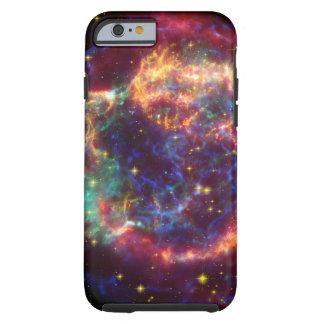 Coque iPhone 6 Tough Reste de supernova de galaxie de Cassiopeia