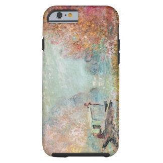 Coque iPhone 6 Tough Studio de bateau de Claude Monet | sur la Seine