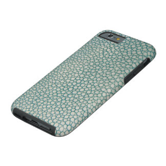 Coque iPhone 6 Tough Vert de Seafoam d'Aqua de Shagreen