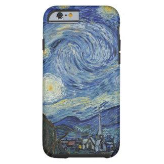Coque iPhone 6 Tough Vincent van Gogh | la nuit étoilée, juin 1889