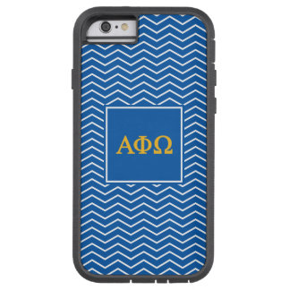 Coque iPhone 6 Tough Xtreme Alpha motif d'Omega | Chevron de phi