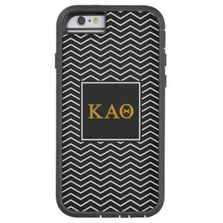 Coque iPhone 6 Tough Xtreme Alpha motif du thêta | Chevron de Kappa