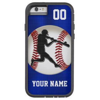 Coque iPhone 6 Tough Xtreme Caisses de téléphone de base-ball PERSONNALISÉES