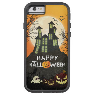 Coque iPhone 6 Tough Xtreme Ciel nocturne hanté éffrayant Halloween de costume