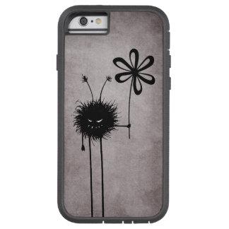 Coque iPhone 6 Tough Xtreme Cru mauvais d'insecte de fleur protecteur