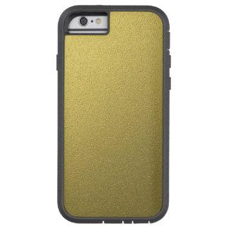 Coque iPhone 6 Tough Xtreme Effet métallique d'aluminium d'or