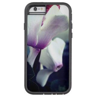 Coque iPhone 6 Tough Xtreme iPhone rose 6/6s de photo de fleurs blanches, dur