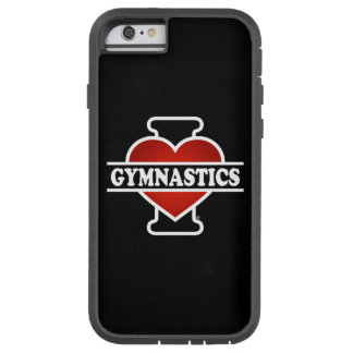 Coque iPhone 6 Tough Xtreme J'aime la gymnastique