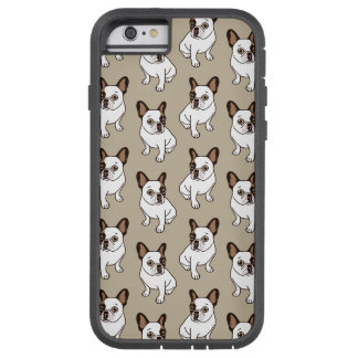 Coque iPhone 6 Tough Xtreme Le faon adorable Frenchie pie