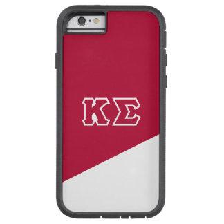 Coque iPhone 6 Tough Xtreme Lettres de Grec du sigma   de Kappa