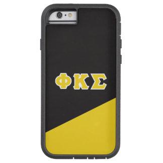 Coque iPhone 6 Tough Xtreme Lettres de Grec du sigma   de Kappa de phi
