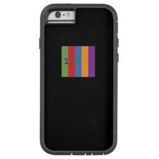 Coque iPhone 6 Tough Xtreme Néo- douille d'ordinateur portable ALIEN SOLITAIRE