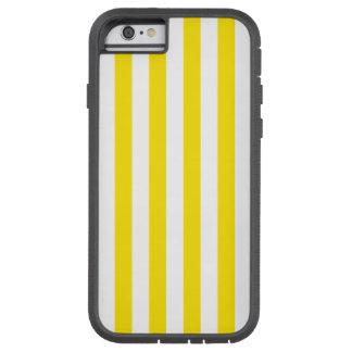 Coque iPhone 6 Tough Xtreme Rayures jaunes verticales