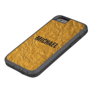 Coque iPhone 6 Tough Xtreme Texture d'or