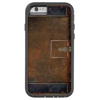 Coque iPhone 6 Tough Xtreme Vieille couverture de livre en cuir