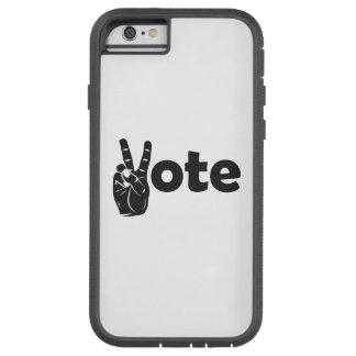 Coque iPhone 6 Tough Xtreme Vote d'illustration pour la paix