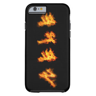 Coque iPhone 6 Tough Yahuah appellent - le Coque-Compagnon cas dur de