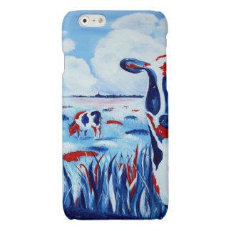 Coque Iphone 6 Vache art