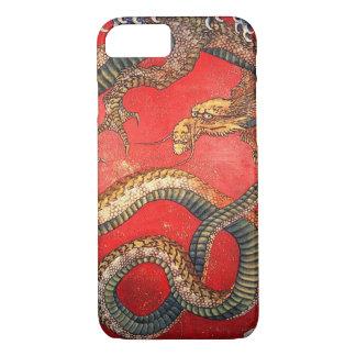 Coque iPhone 7 北斎の龍, dragon de Hokusai de 北斎, Hokusai, art du