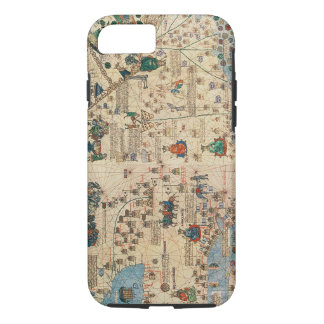 Coque iPhone 7 131-0058260/1 atlas catalan : Petit groupe de