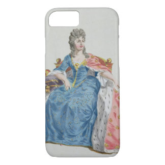 Coque iPhone 7 1353-1412) reines de Margaret (du Danemark,