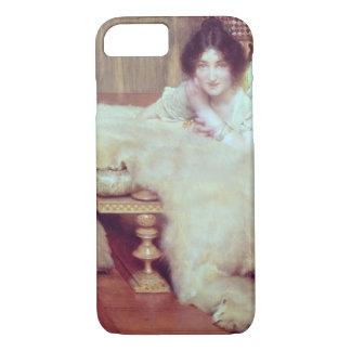 Coque iPhone 7 Alma-Tadema | un auditeur : La couverture d'ours,