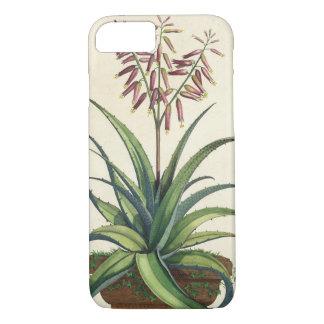 "Coque iPhone 7 Aloès Vera vulgaris, de ""Phytographia Curiosa"", p"