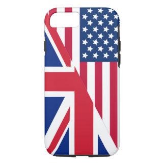 Coque iPhone 7 Américain et cas dur de l'iPhone 7 de drapeau
