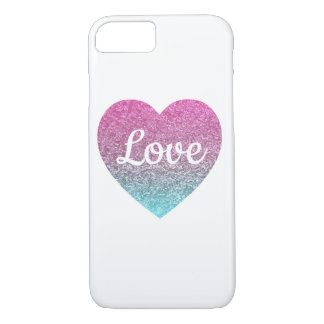 Coque iPhone 7 Amour blanc de cas