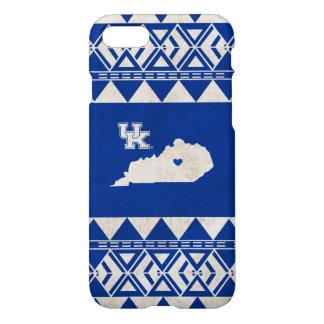 Coque iPhone 7 Amour tribal d'état du Kentucky  