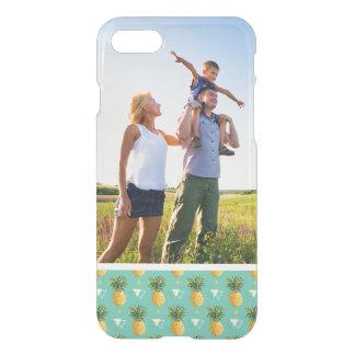 Coque iPhone 7 Ananas faits sur commande de photo sur le motif